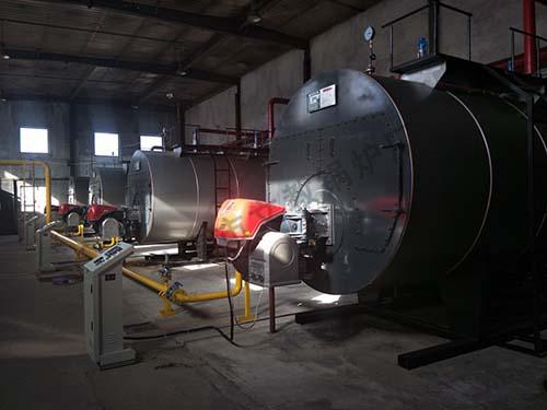 国华物流4台6吨热水燃气炉